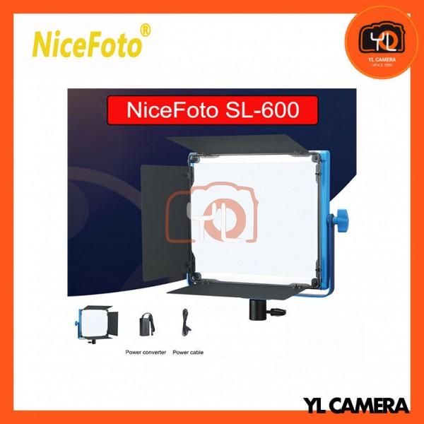 NiceFoto SL-600A Compact Bi-color LED Panel Light