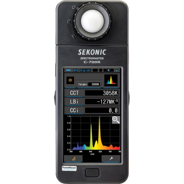 (Pre-Order) Sekonic C-700R SpectorMaster Color Meter W/ Wireless Flash Triggering
