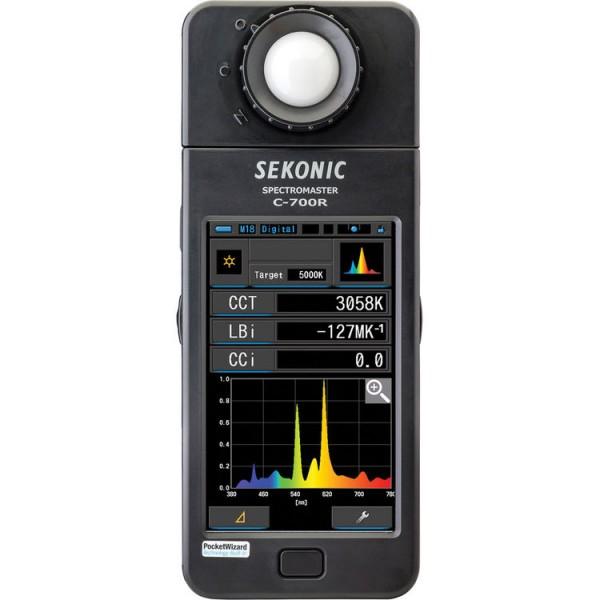 (Pre-Order) Sekonic C-700R SpectorMaster Color Meter W/ Wireless Flash Triggering
