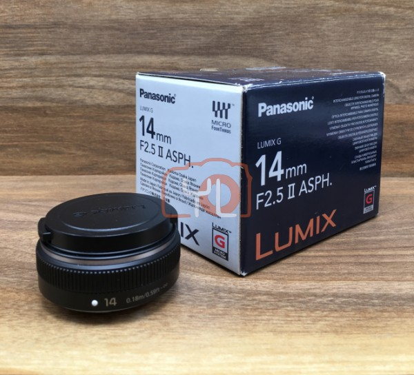 [USED @ YL LOW YAT]-Panasonic 14mm F2.5 II ASPH LUMIX G Lens,95% Condition Like New,S/N:BR9CA103227