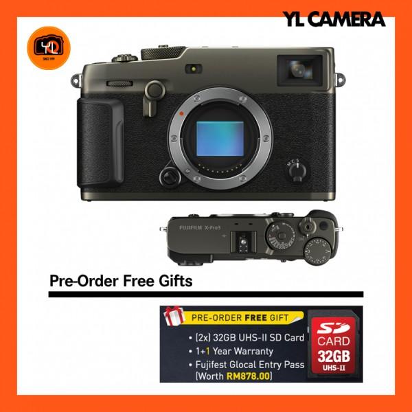 (Pre-Order) Fujifilm X-Pro 3 (Dura Black)