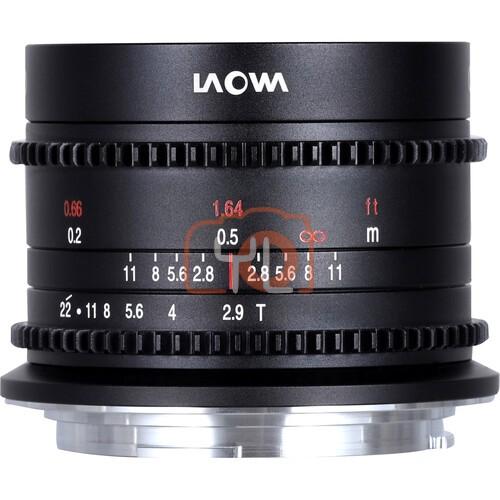 Laowa 9mm T2.9 Zero-D Cine Lens