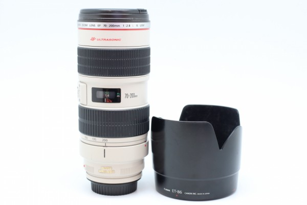 [USED-PUDU] Canon 70-200mm F2.8 L IS EF USM LENS 90%LIKE NEW CONDITION SN:485846