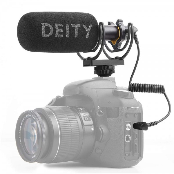 Deity V-Mic D3 Shotgun Microphone with Rycote Shockmount