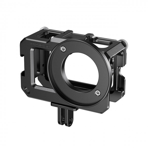 SmallRig CVD2471 Cage for DJI Osmo Action (Compatible with Microphone Adapter)
