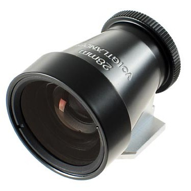 Voigtlander 28mm Metal Brightline Optical Viewfinder (Black)