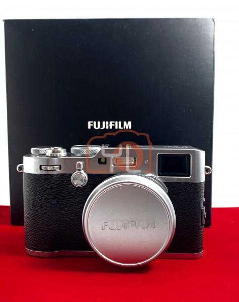 [USED-PJ33] Fujifilm X100F Camera (Silver), 85% Like New Condition (S/N:73M05803)