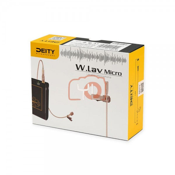 Deity Microphones W.Lav Micro with Da4 Adapter (for Shure)