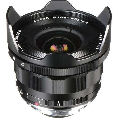 Voigtlander 15mm F4.5 Super Wide-Heliar Aspherical III Lens (For Leica M-Mount)