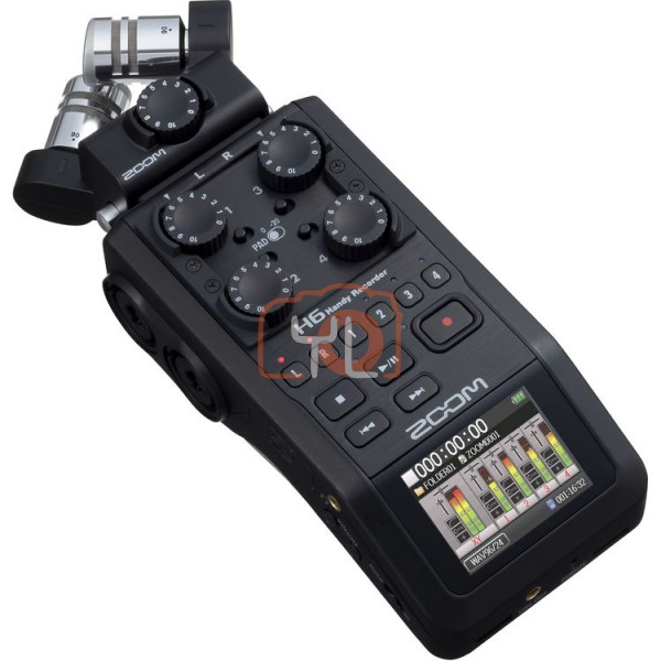 ZOOM H6 Portable Handy Recorder