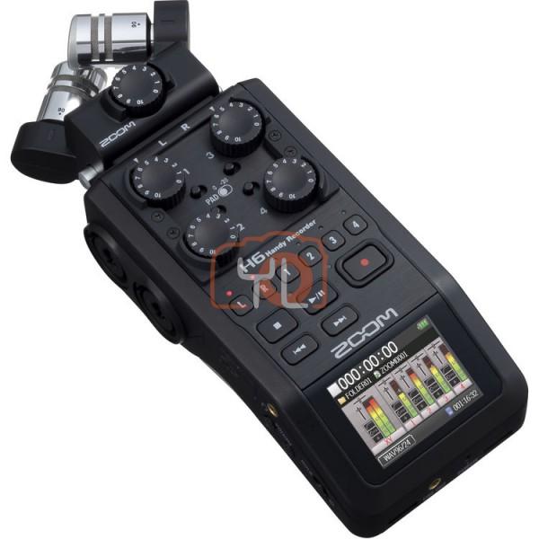 ZOOM H6 Portable Handy Recorder