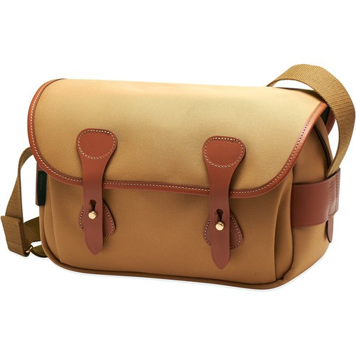 Billingham S3 Shoulder Bag (Khaki Canvas/Tan Leather)