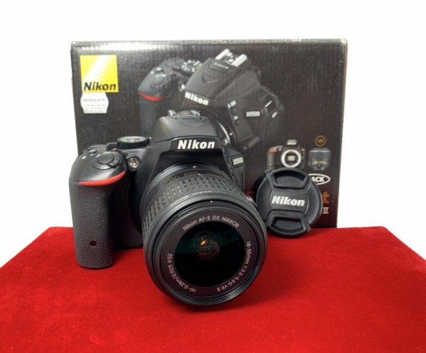 [USED-PJ33] Nikon D5500 Wtih 18-55MM F3.5-5.6 G DX VR II AFS, 95% Like New Condition (S/N:6708252)