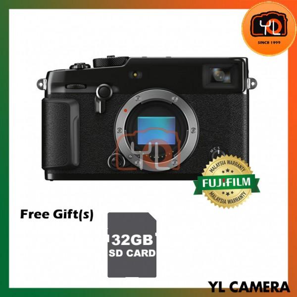 Fujifilm X-Pro 3 - Black (Free 32GB UHS-II SD Card)