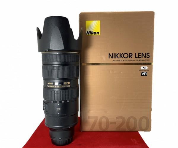 [USED-PJ33] Nikon 70-200MM F2.8 G VR II AFS, 85% Like New Condition (S/N:20200218)