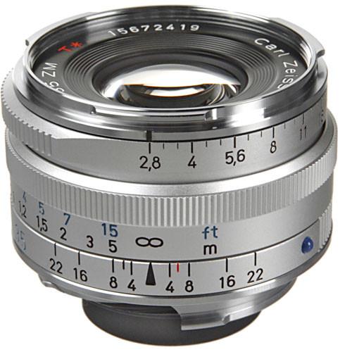 ZEISS C Biogon T* 35mm F2.8 ZM Lens (Silver)