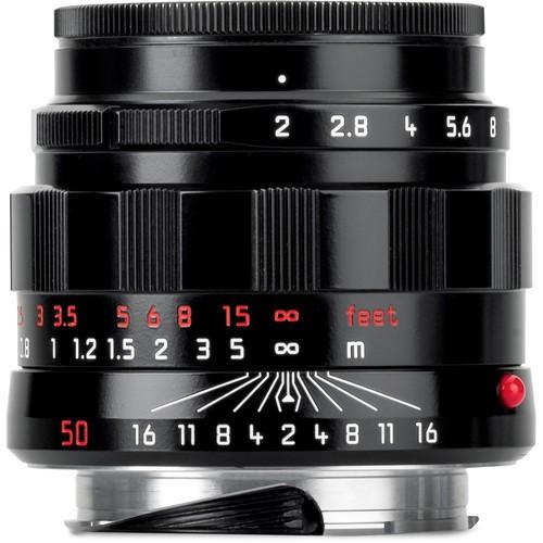 Leica 50mm F2 APO-Summicron-M ASPH - LHSA Black (11186)