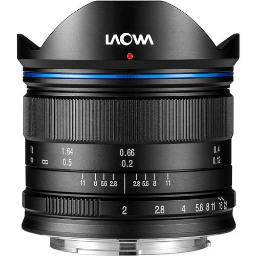 Venus Optics Laowa 7.5mm f/2 MFT Lens for Micro Four Thirds (Black)