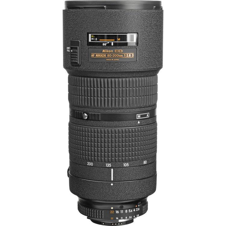 Nikon 80-200mm F2.8 AF D ED