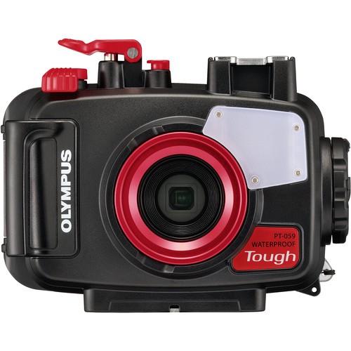 Olympus Tough TG-6 + PT-059 Underwater Housing (Black) [Free LEXAR 64GB SD Card] [Online Redemption Extra Battery + Camera Case]