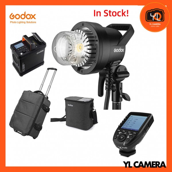 Godox AD1200Pro Battery Powered Flash System With XPro TTL Wireless Flash Trigger for Canon Combo Set