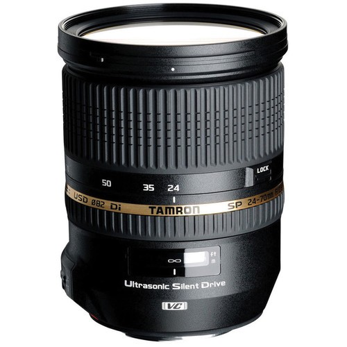Tamron SP 24-70mm f/2.8 DI VC USD Lens Canon EF