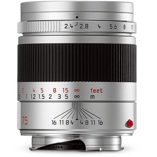 Leica 75mm F2.4 Summarit-M - Silver (11683)