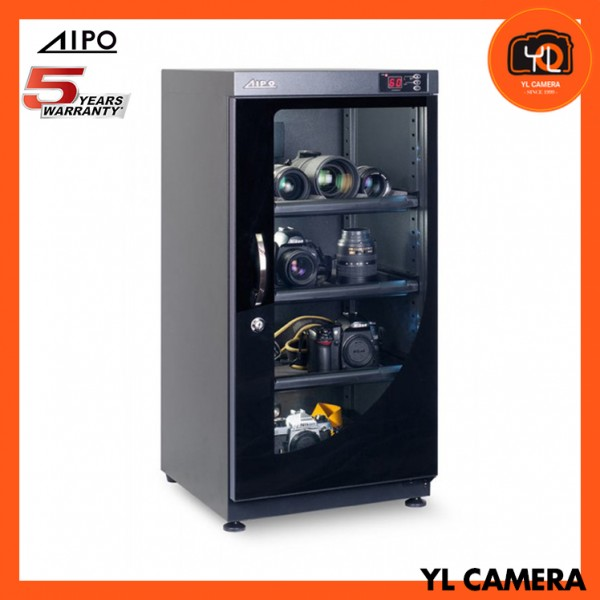 AIPO Digital Series AP-102EX Dry Cabinet (102L) (New with LED Light!)