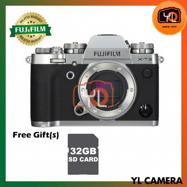 Fujifilm X-T3 (Silver) [Free 32GB SD Card UHS-II]