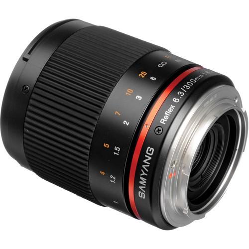 Samyang 300mm F6.3 ED UMC CS Lens for Micro Four Thirds Mount (Black)