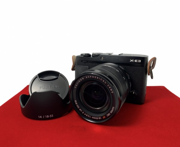 [USED-PJ33] Fujifilm X-E3 With 18-55MM F2.8-4 OIS R LM OIS XF Lens, 95% Like New Condition (S/N:8AW00656)
