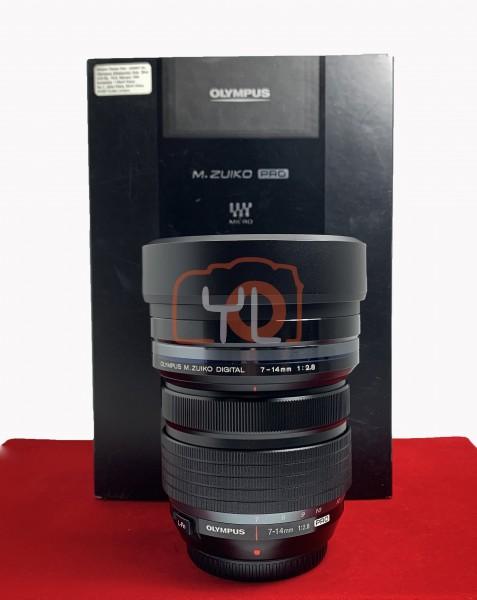 [USED-PJ33] Olympus 7-14MM F2.8 PRO M.Zuiko, 95% Like New Condition (S/N:6011100286)