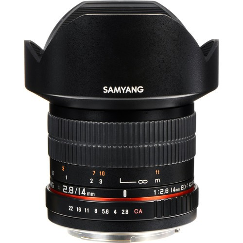 Samyang 14mm F2.8 ED AS IF UMC Lens for Canon EF