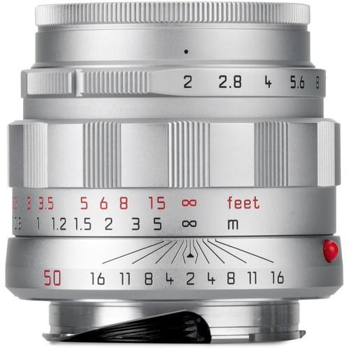 Leica 50mm F2 APO-Summicron-M ASPH - LHSA Silver (11187)