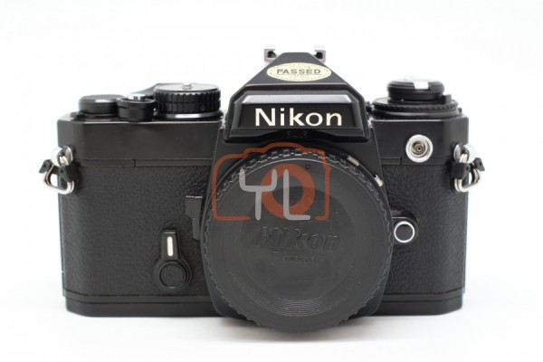 [USED-PUDU] Nikon FE Film Camera (BLACK) 90%LIKE NEW CONDITION SN:3923189