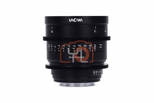 Laowa 15mm T2.1 Zero-D Cine Lens (Meters - Canon RF)