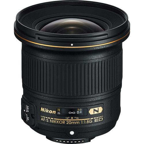 Nikon 20mm F1.8G AF-S