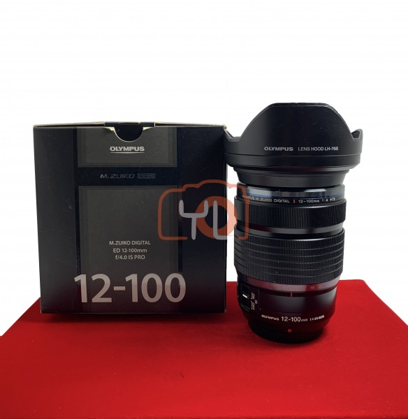 [USED-PJ33] Olympus 12-100MM F4 PRO IS M.Zuiko ,85% Like New Condition (S/N:ACC205783)