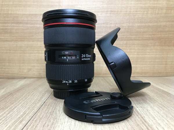 (USED YL LOW YAT)-Canon EF 24-70mm F2.8 L II USM Lens,90% Condition Like New,S/N:6375002080