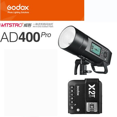 Godox AD400Pro Witstro All-In-One Outdoor Flash X2T-F Fro Fujifilm Combo Set