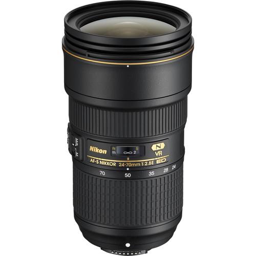 Nikon 24-70mm F2.8E ED AF-S VR