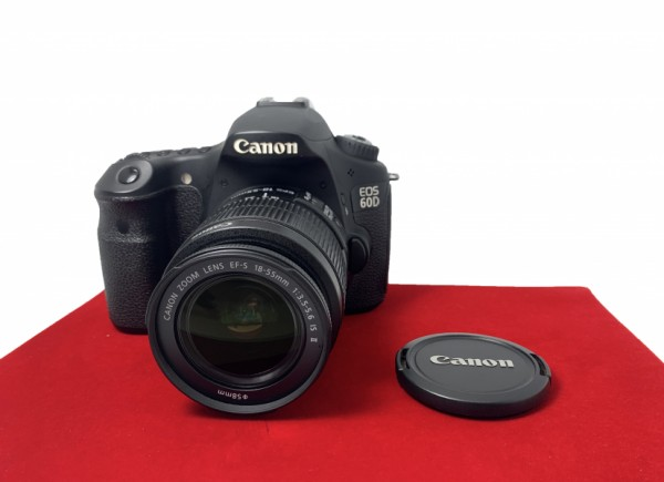 [USED-PJ33] Canon Eos 60D With 18-55MM F3.5-5.6 IS II (Shutter Count :24K) , 95% Like New Condition (S/N:2931405555)