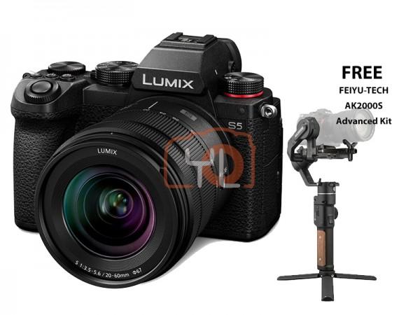 Panasonic Lumix DC-S5 + S 20-60mm F3.5-5.6