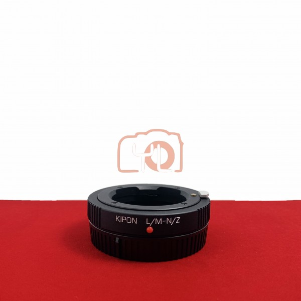 [USED-PJ33] Kipon Leica M To Nikon Z Adapter, 95% Like New Condition (S/N:-)