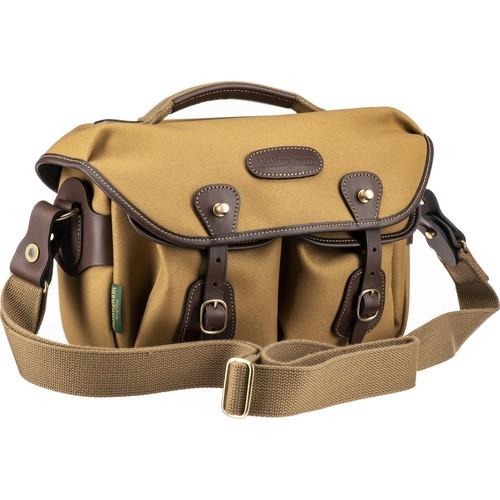 Billingham* Hadley Small Pro Shoulder Bag (Khaki FibreNyte & Chocolate Leather)