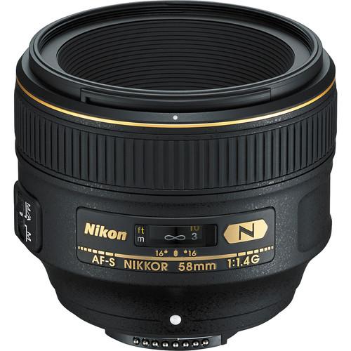 Nikon 58mm F1.4G AF-S