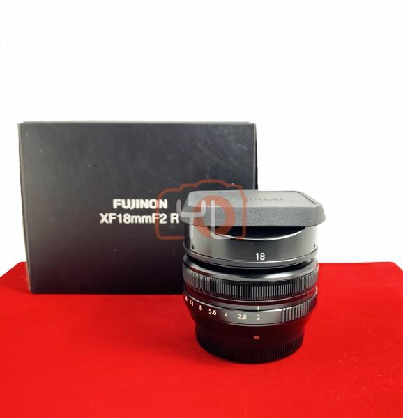 [USED-PJ33] Fujifilm 18MM F2 R XF, 80% Like New Condition (S/N:21A16488)