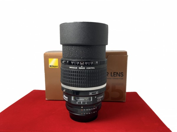 [USED-PJ33] Nikon 135MM F2 DC-Nikkor AFD, 90% Like New Condition (S/N:519142)