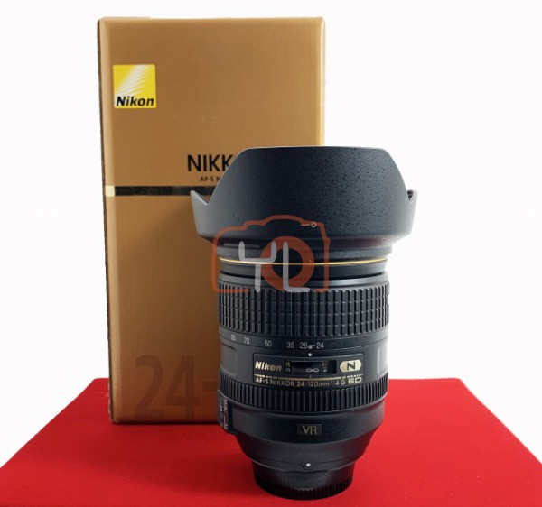 [USED-PJ33] Nikon 24-120MM F4 G AFS VR, 90% Like New Condition (S/N:62361698)