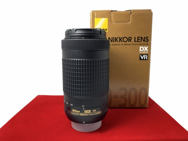 [USED-PJ33] Nikon 70-300mm F4.5-6.3G ED VR DX AFP, 98% Like New Condition (S/N:20344733)